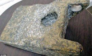 25万年前のアルミニウム製品の画像