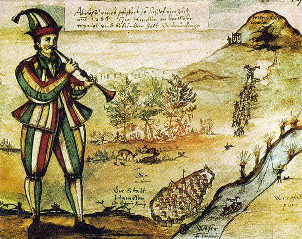 ハーメルンの笛吹き男の画像