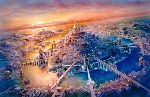 アトランティス文明のイメージ画