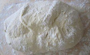パン生地の画像