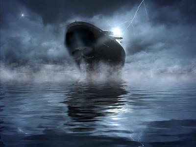 幽霊船の画像