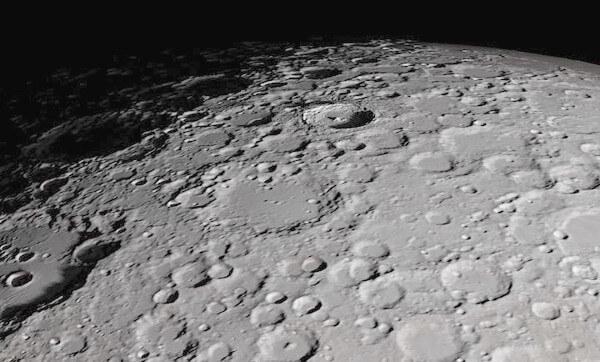 月面の写真