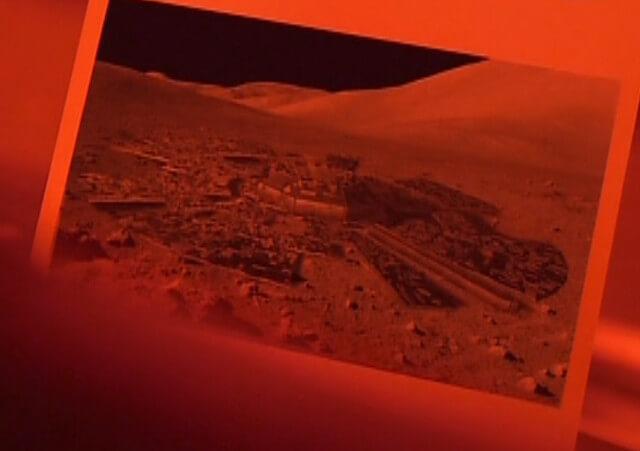 月面基地のイメージ画像