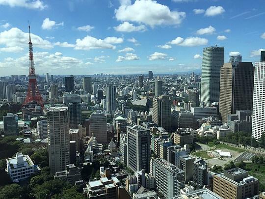 東京のビル群の画像