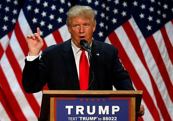 トランプ大統領の画像
