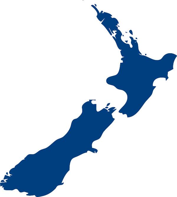 ニュージーランドのイラスト