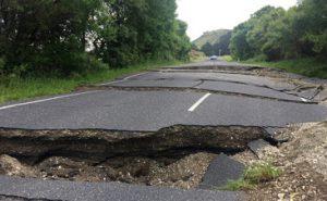 ニュージーランド地震の画像