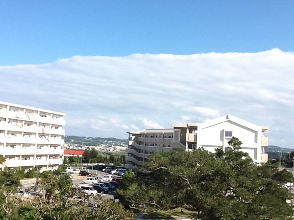 地震雲の写真