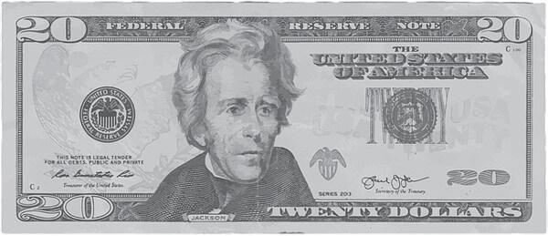 20ドル札の画像