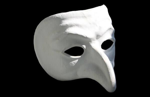 オペラの仮面の画像