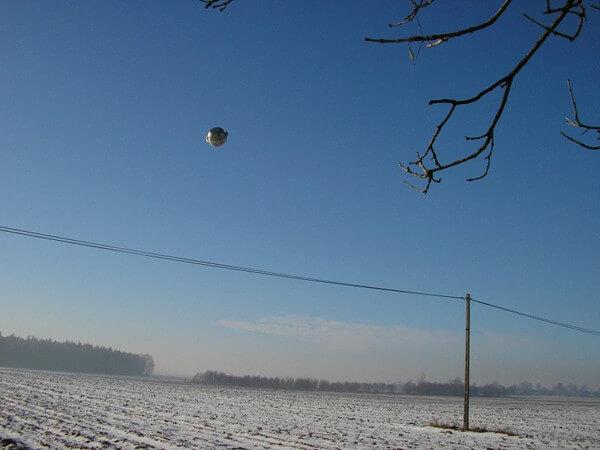 球体型UFOの画像