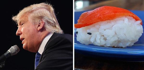 トランプ大統領&寿司