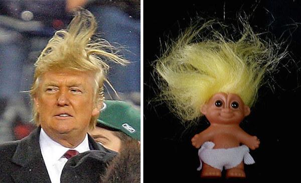 トランプ大統領&人形