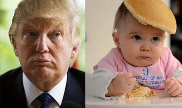 トランプ大統領&baby