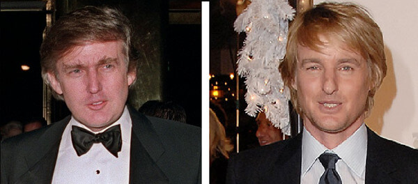 トランプ大統領&オーウェン・ウィルソン