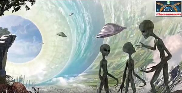 地底人とUFOの画像