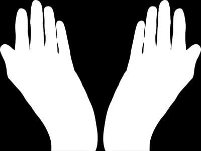 手のイメージイラスト