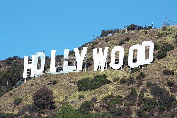 HOLLYWOODサインの画像