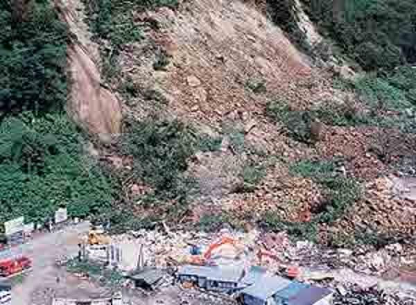 北海道南西沖地震の被害