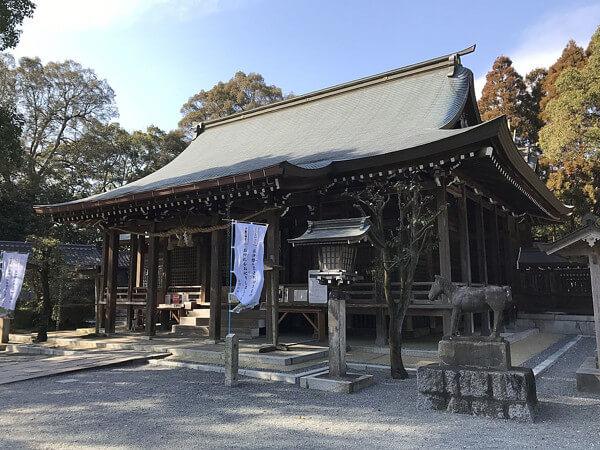 千栗八幡宮の画像