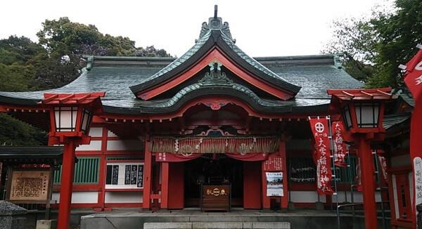 大学稲荷神社の画像