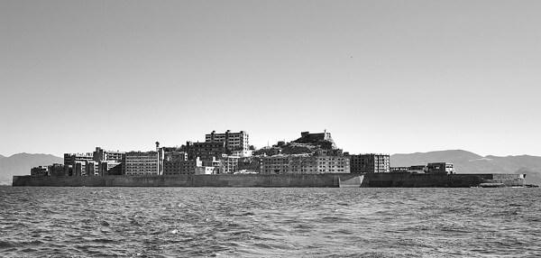 軍艦島の画像
