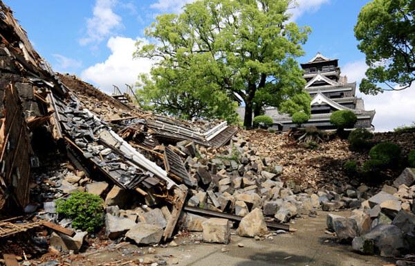熊本地震の画像
