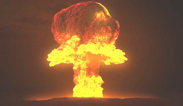 核実験の画像