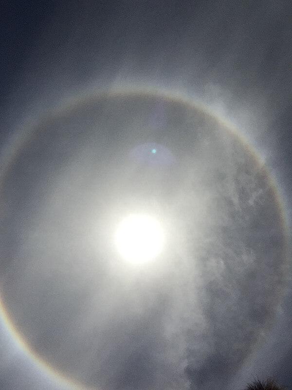 日暈の投稿画像