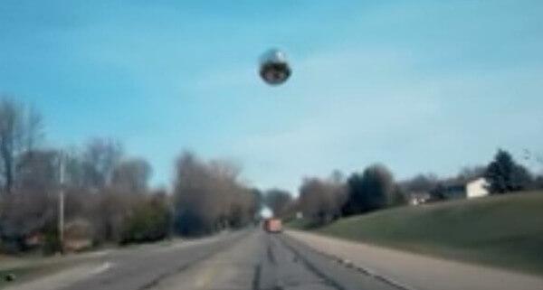ボール型UFOの画像