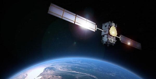 人工衛星の写真