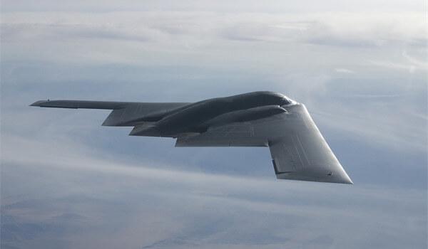ステルス爆撃機の写真