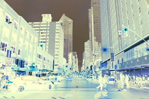 都会の写真