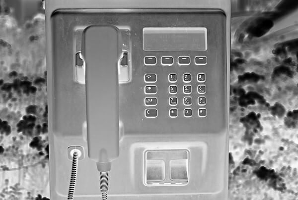 公衆電話の画像