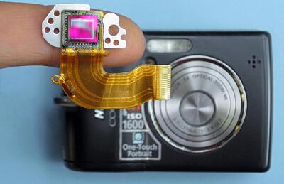 CCDセンサーの画像