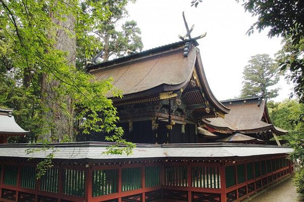 鹿島神宮 本殿の写真