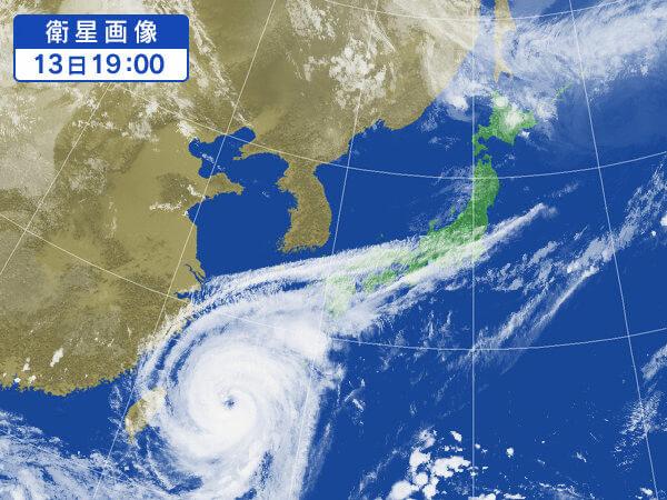 気象情報の画像