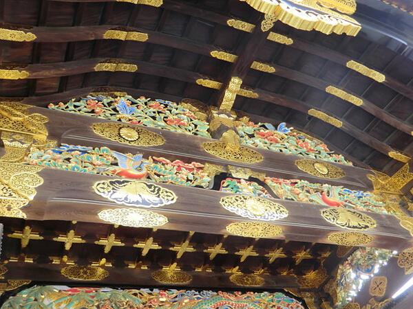 二条城の唐門(内側)の画像
