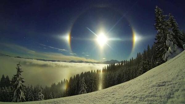 4つの太陽の画像