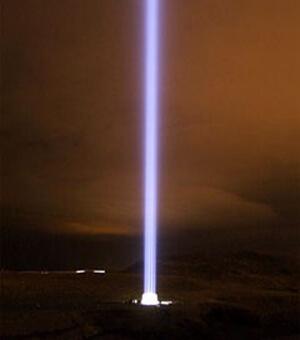 光の柱についての質問2