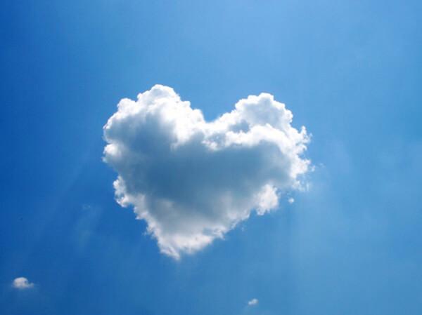 面白い雲の画像