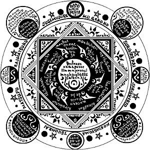 魔方陣の画像