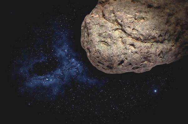 隕石のイラスト