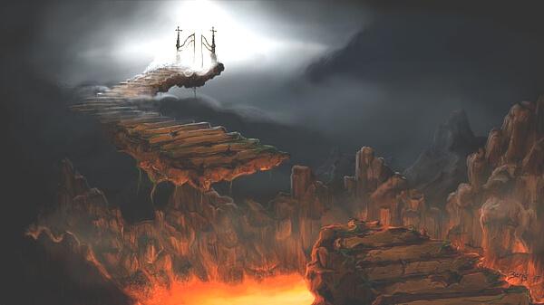 地獄のイメージイラスト