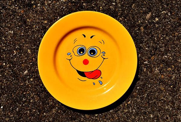 お皿の写真