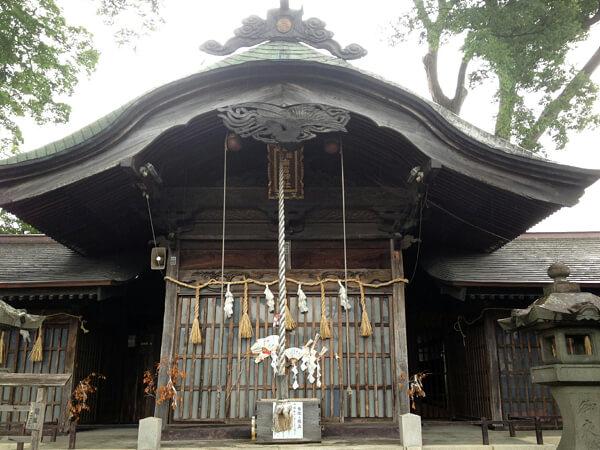 長野県の箕輪南宮神社の写真