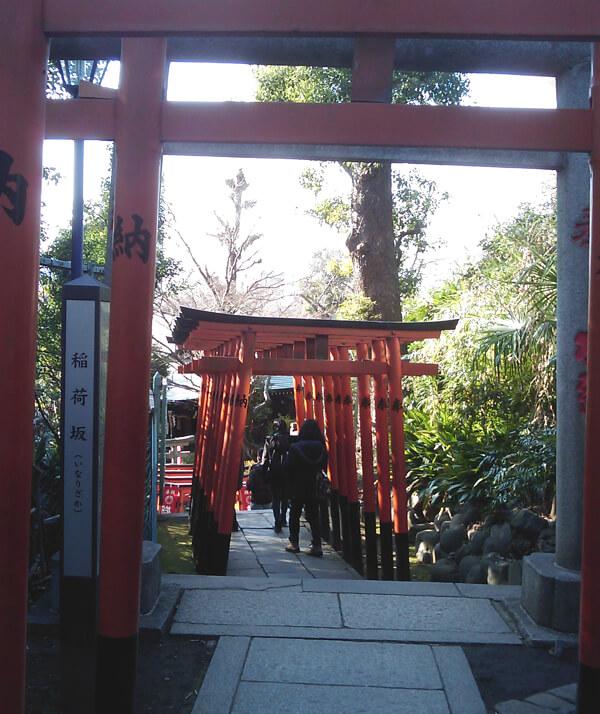 花園稲荷神社の鳥居3