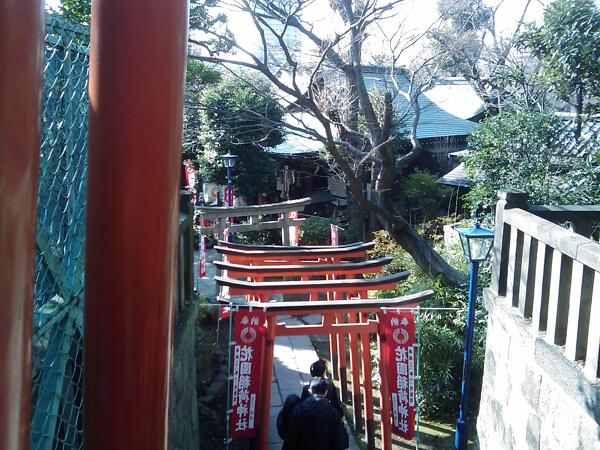 花園稲荷神社の鳥居4
