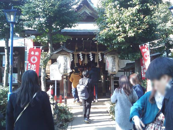 花園稲荷神社の社殿