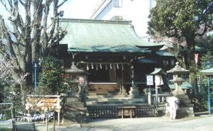 五條天神社の社殿